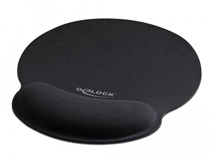 DELOCK Mousepad 12559 με στήριγμα καρπού