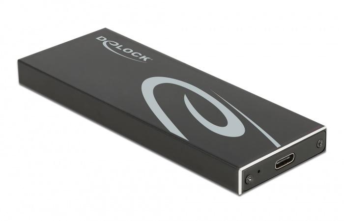 DELOCK θήκη για Μ.2 key B SSD 42003