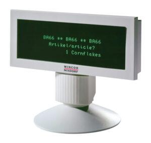 WINCOR NIXDORF POS customer display BA66-1