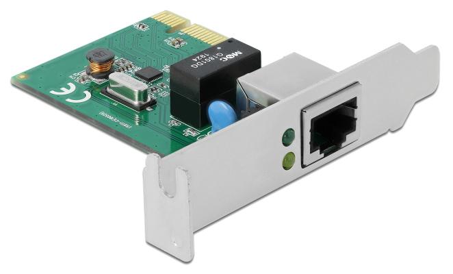 DELOCK κάρτα επέκτασης PCI σε 1x RJ45 Gigabit LAN 90381